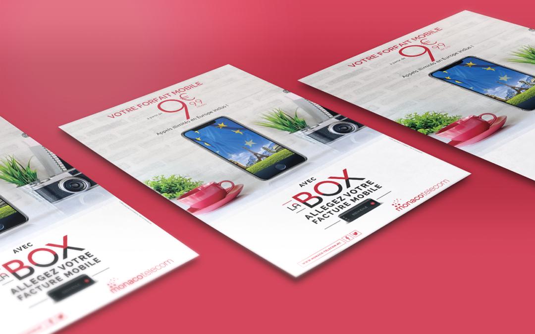 Monaco Telecom • Affiches LaBOX mobile