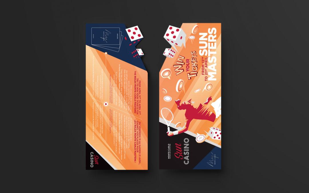 Monte-Carlo SBM • Sun Casino • Carton invitation