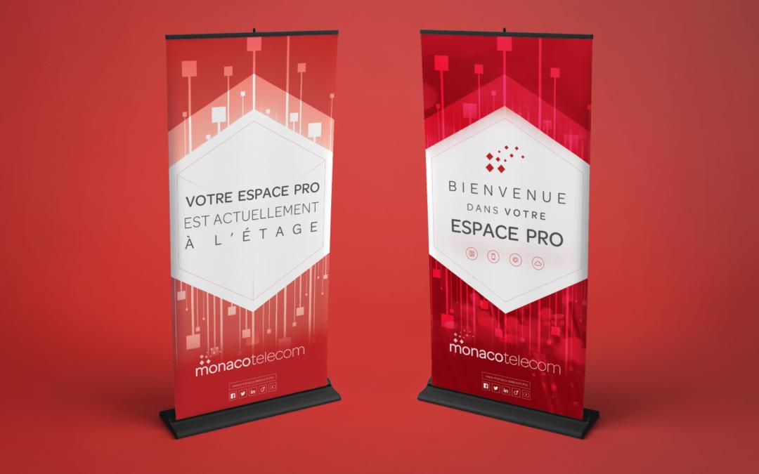 Monaco Telecom Entreprises • Kakemonos