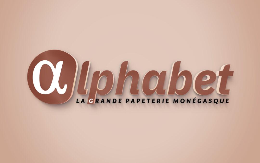 Alphabet Papéterie • Identité