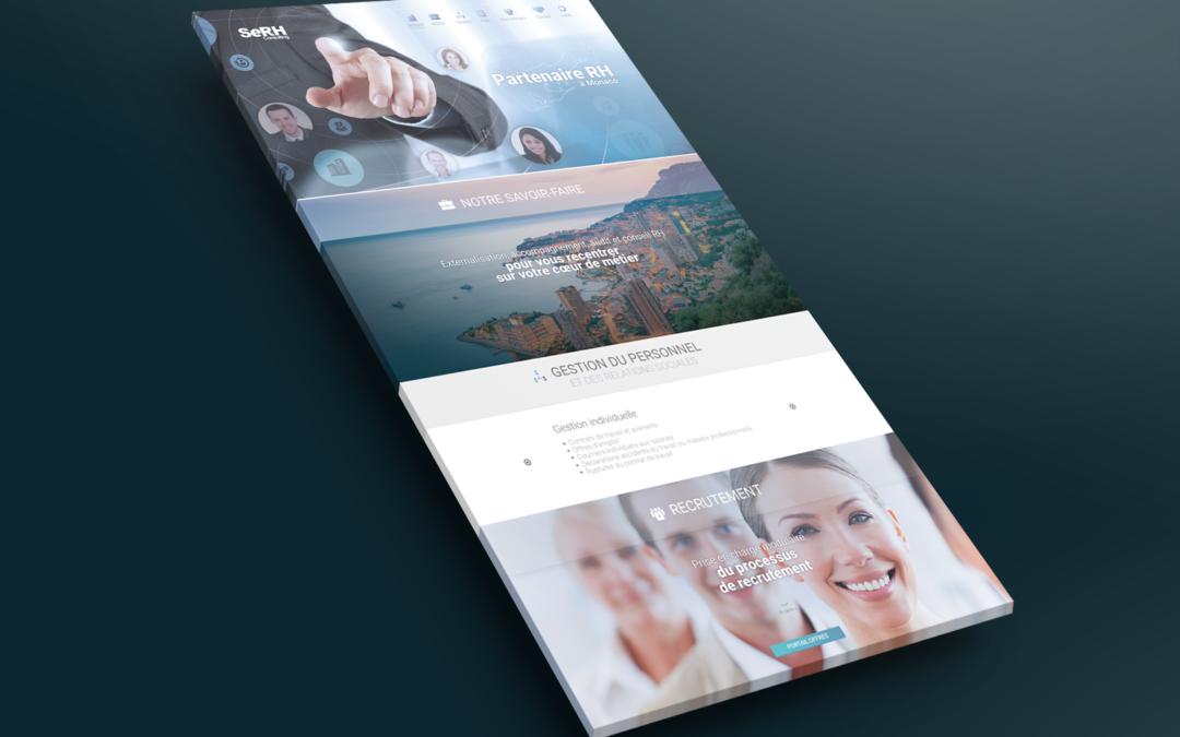 SeRH Consulting • Site Internet