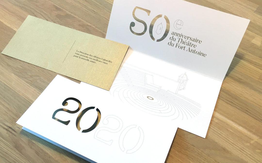 Direction des Affaires Culturelles • Carte de vœux 2020